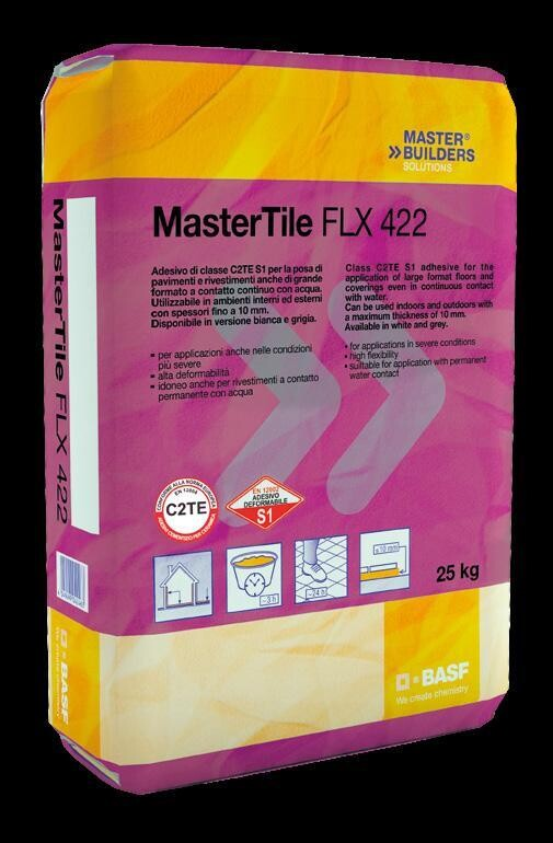 FLX 422 Collante Grigio Kg 25 Master Tile