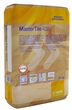 Master Tile 420 Grigio Collante Kg 25