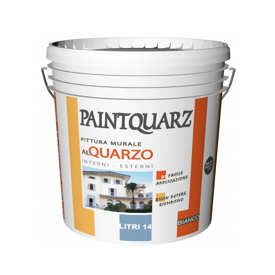 PAINTQUARZ  pittura murale al quarzo per interni e esterni