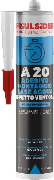 A20 ADESIVO MONTAGGIO BASE ACQUA