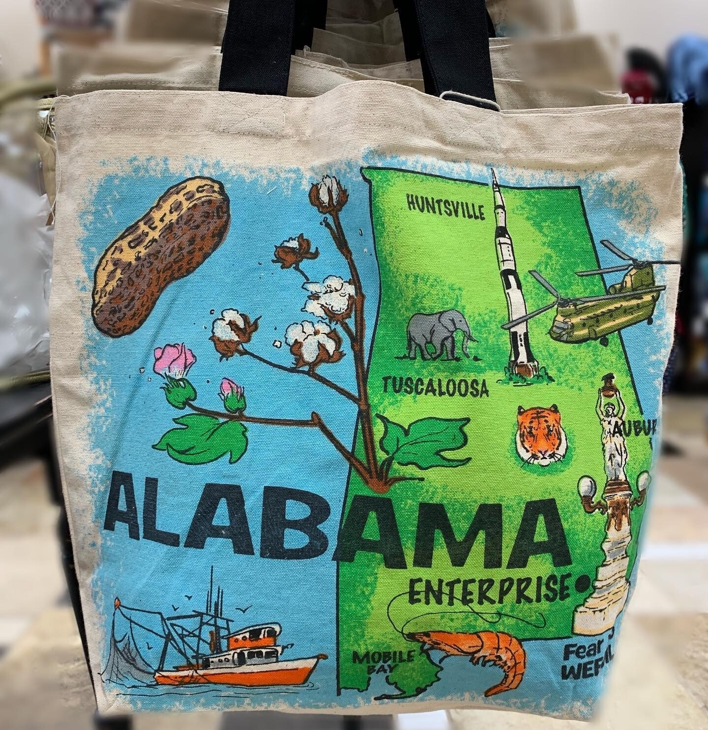 9 Tote Enterprise Alabama Special