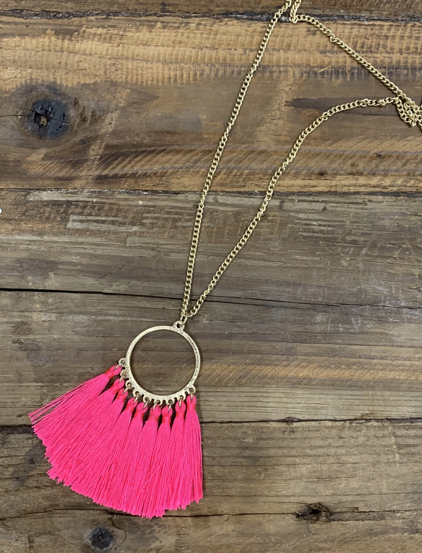 Tassel Loop Necklace