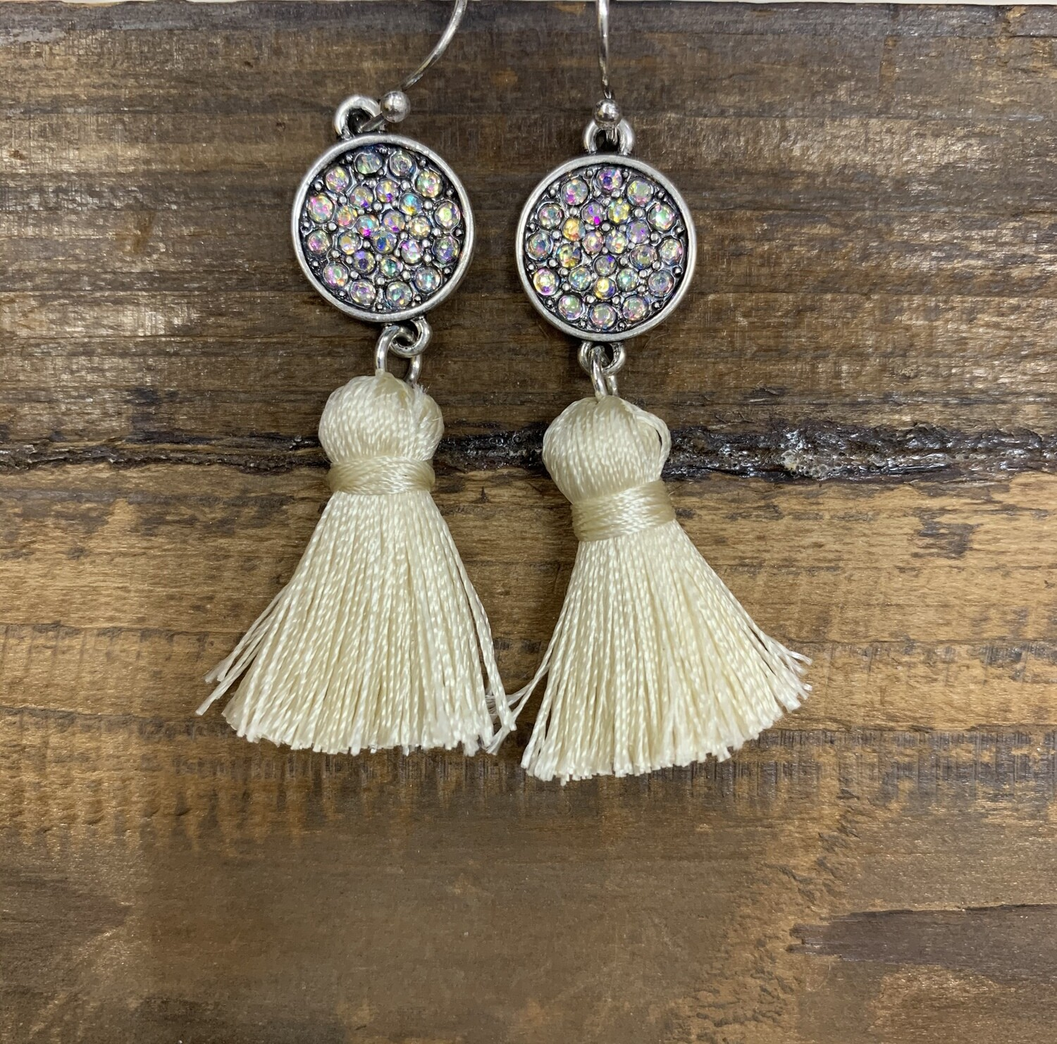 Small Tassel with Studs