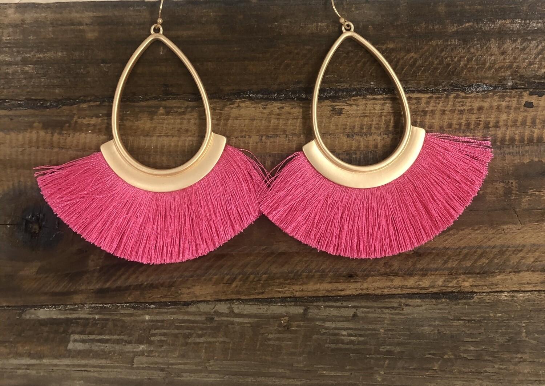 Fringe v&l earrings