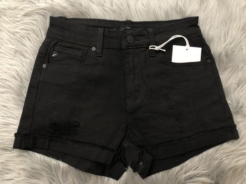 Black KanCan Shorts
