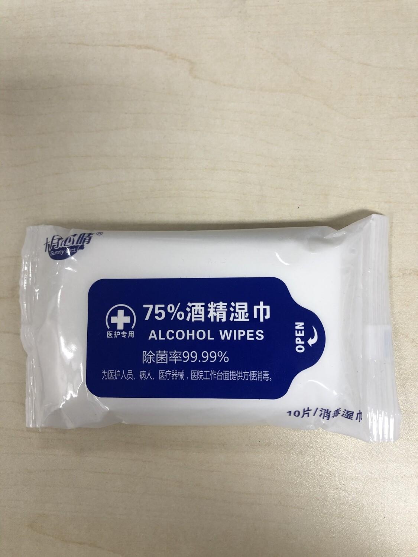 20 Covid Alcohol Wipes