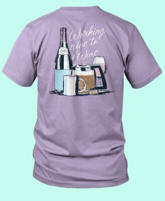 Wine Anna Grace Tee