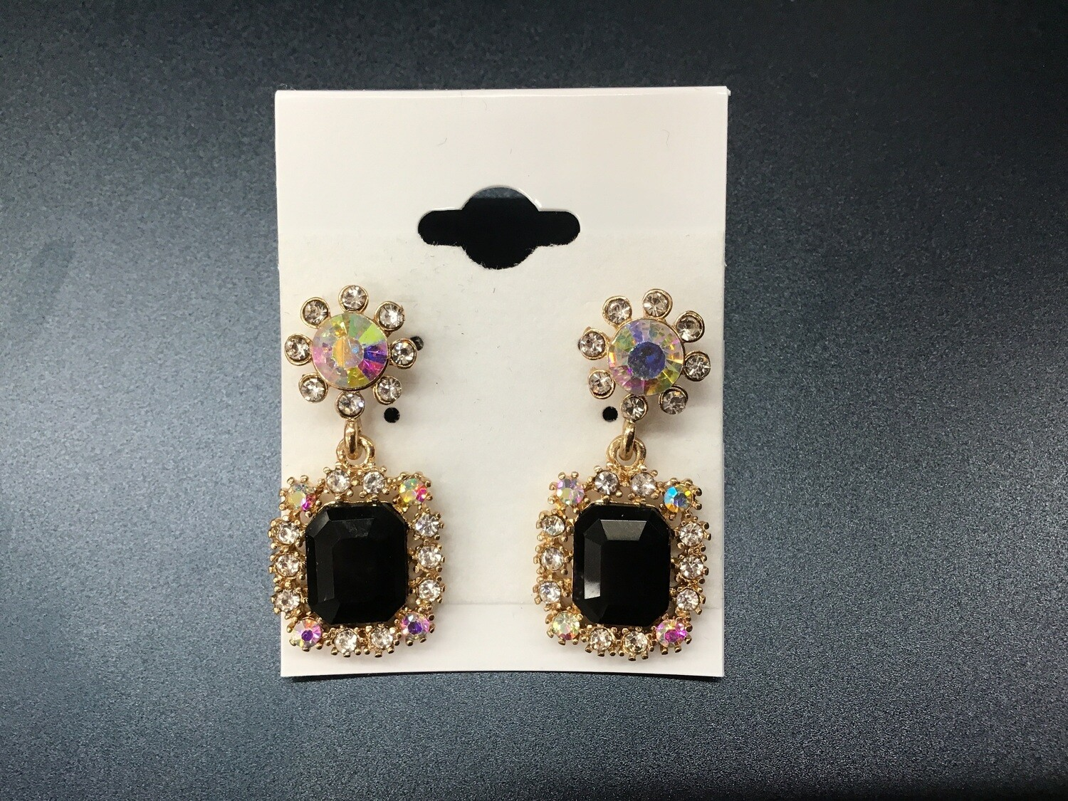 Rectangle Pageant Earring