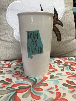 Coffee Cup Born & Raised