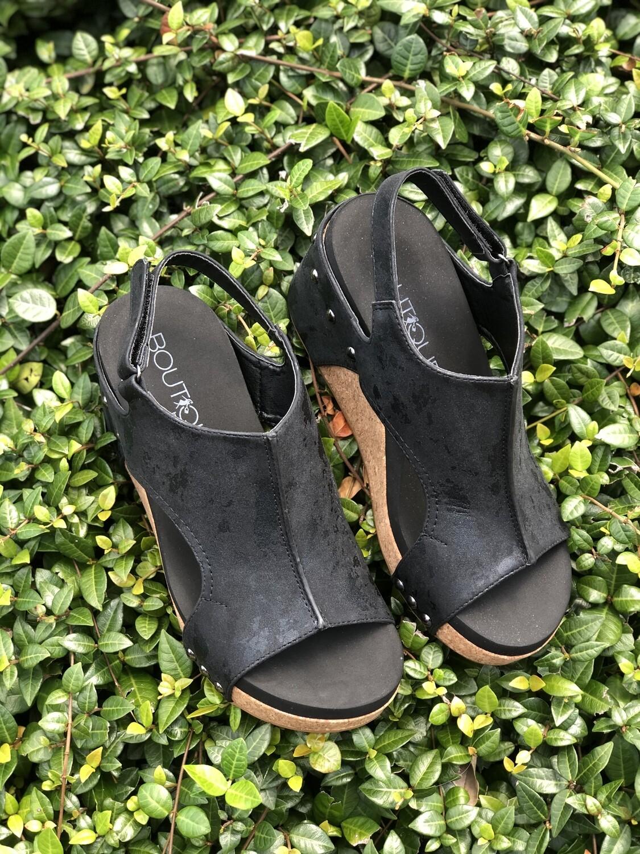 "Shoes Corkys ""Carley"" Metallic"