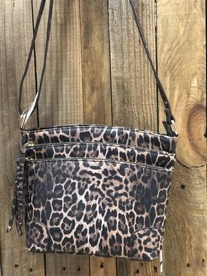 Purse Dark Leopard