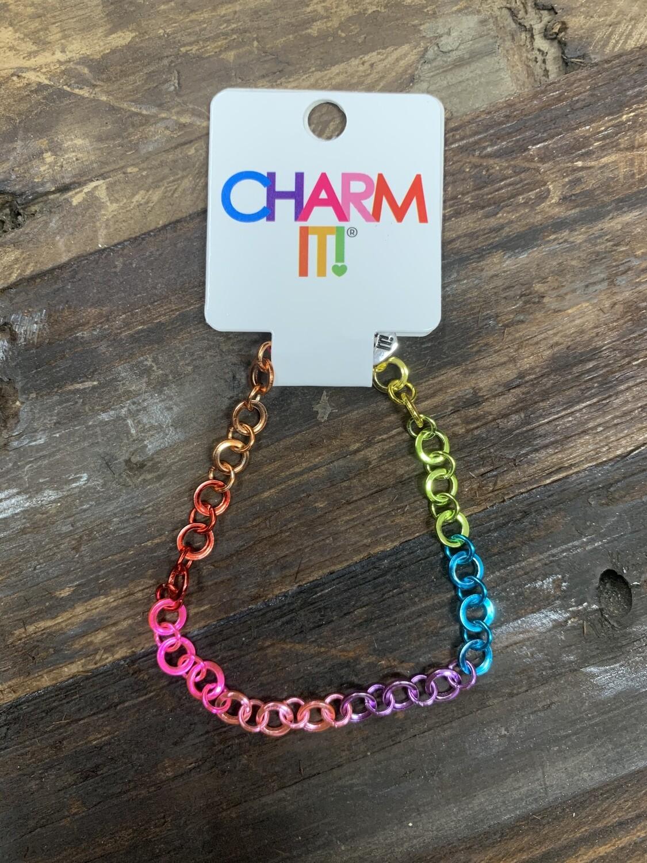 Charm Rainbow Bracelet