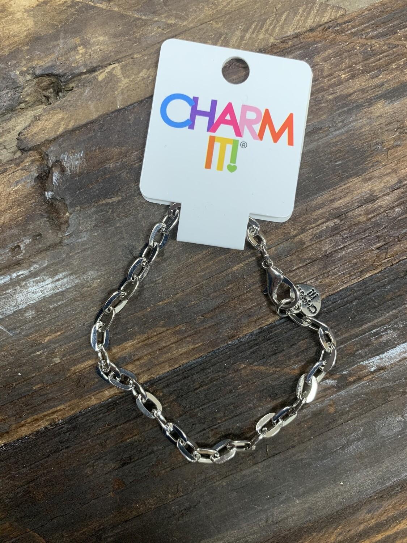 Charm Silver Bracelet