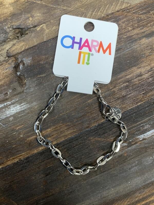 Charm It Silver Bracelet