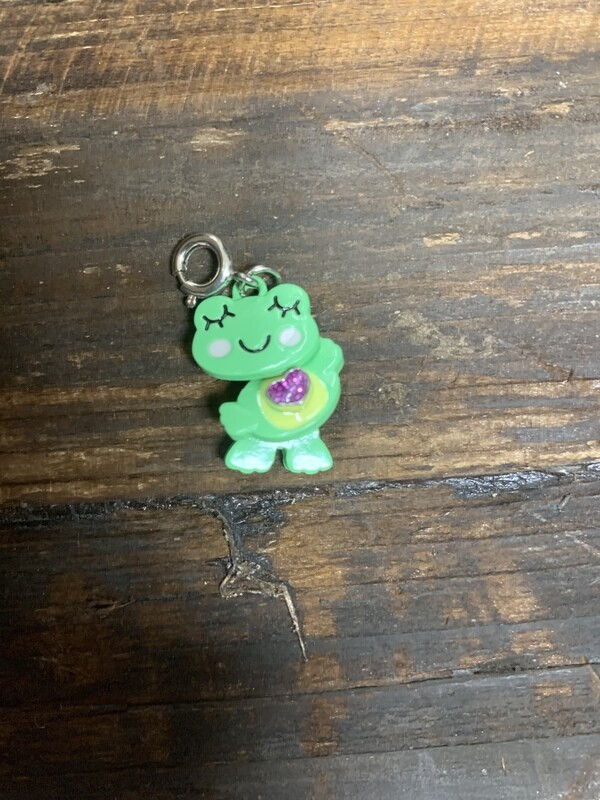Swivel Frog Charm