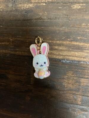Charm Glitter Easter Bunny