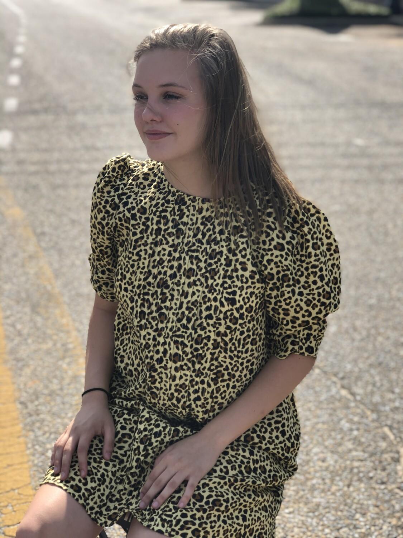 Honey Mix Animal Print Dress