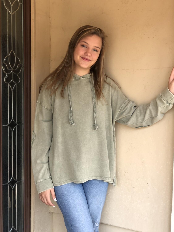 Faded Olive Sweatshirt