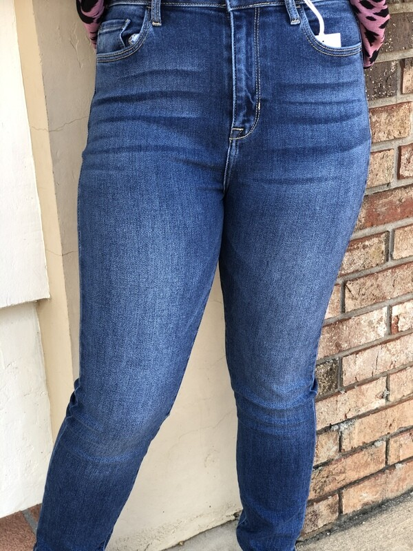 High Rise Cello Skinny Jeans