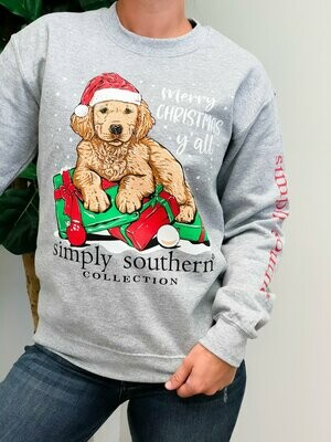 Simply Southern Crewneck Merry Christmas Y'all