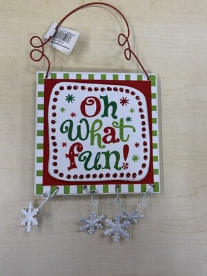 Dangle Snowflake Ornament