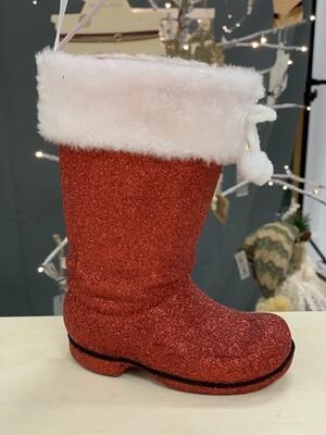 Large Santa Boot Ornament