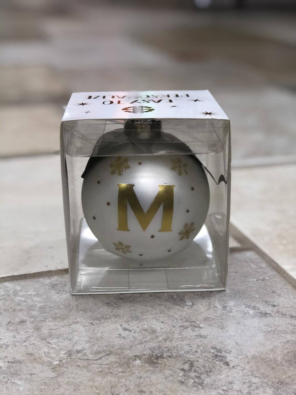 Initial Ornament M