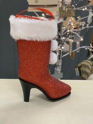 7 Sm Mrs Santa Boot
