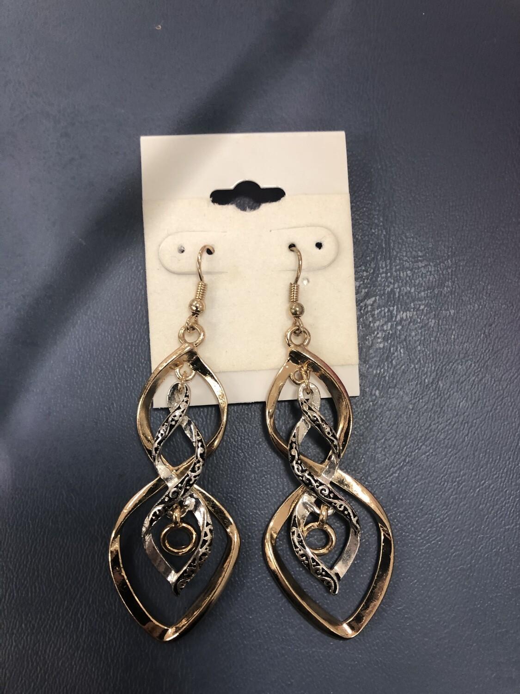 Gold/Silver Earrings