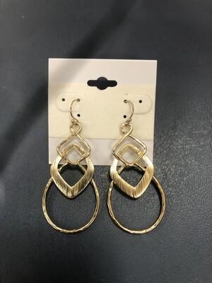 Gold Earrings Misshape