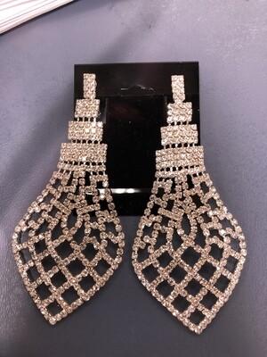 Large Clip On Earrings