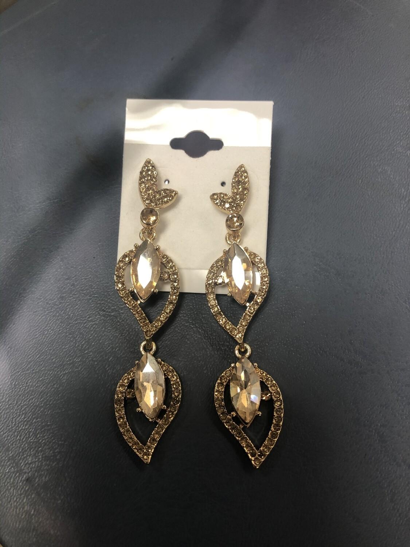 Topaz Formal Earrings