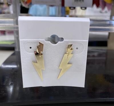 Two Layer Lightning Earrings