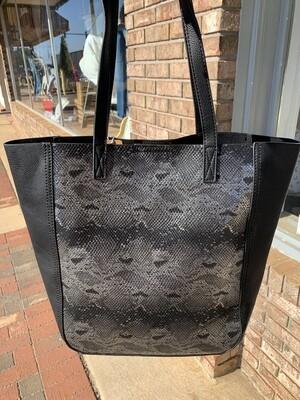 Snake Print 2in1 Bag