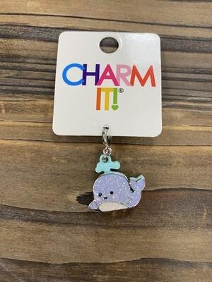 Charm It Glitter Whale