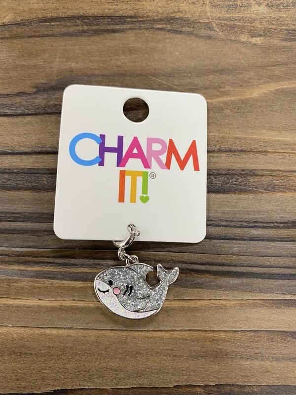 Charm It Glitter Shark