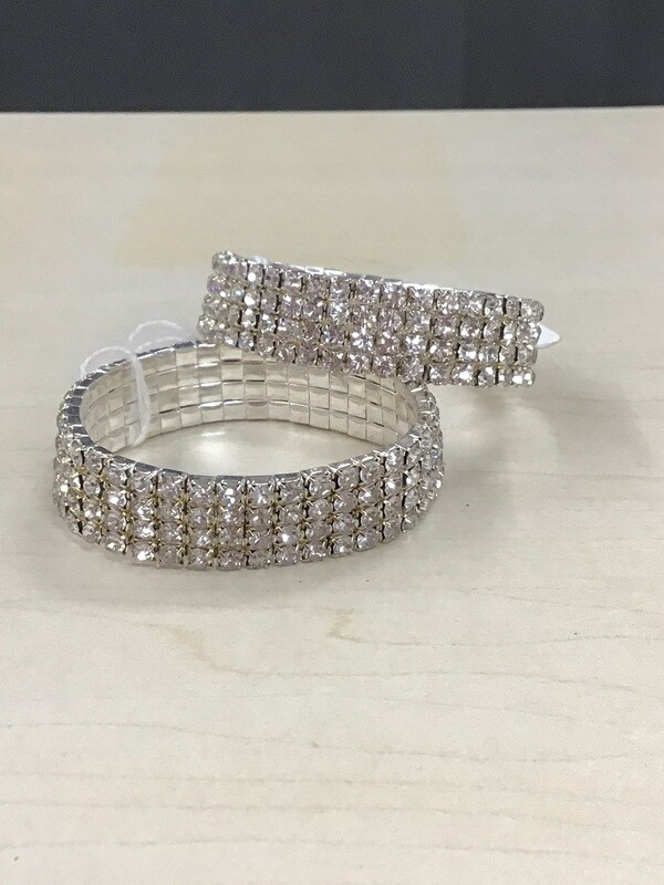 Silver Pageant Bracelet Band