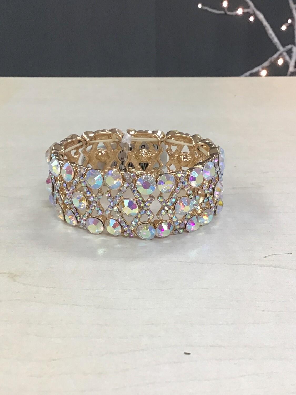 Gold Evening Bracelet AB