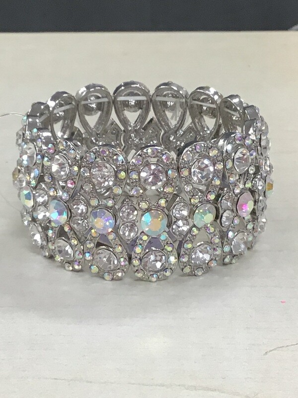 Silver AB Bracelet