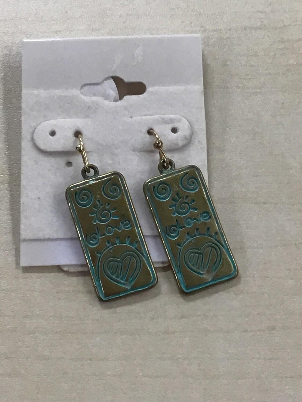 Dangle Love Earrings