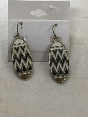 Earrings Chevron