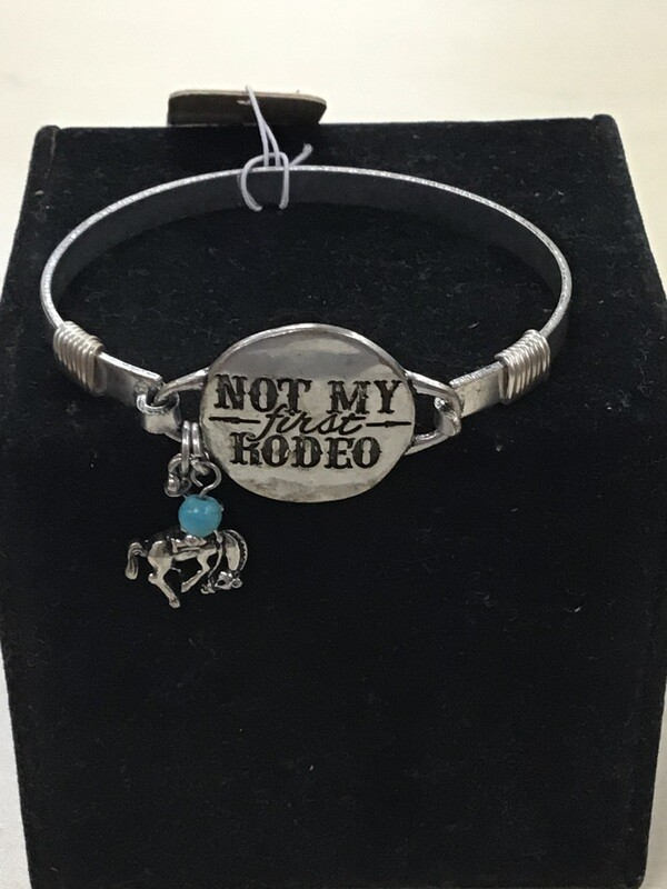 Not My First Rodeo Bangle