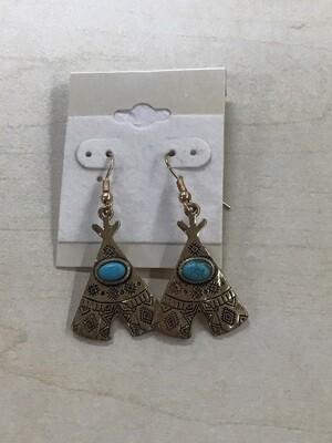 Teepee Earrings