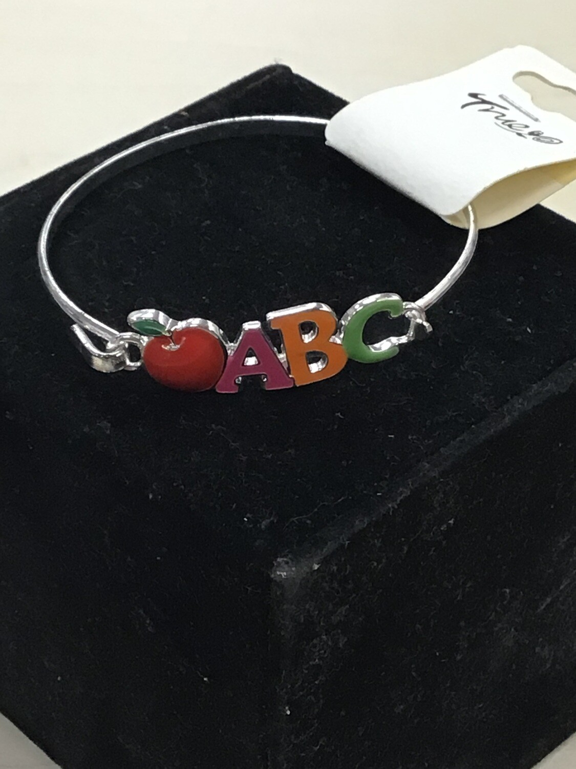 Silver Teacher Bangle