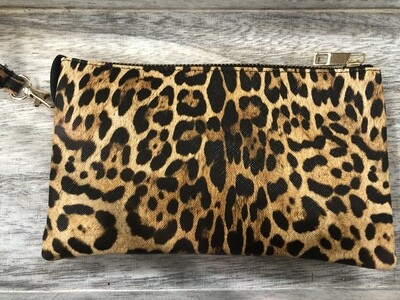 Leo Print Crossbody Purse