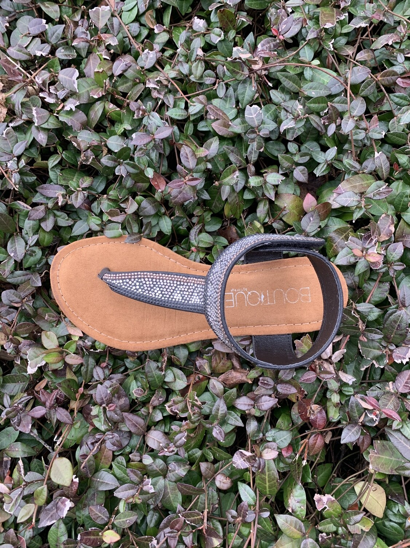 Black Nora Shoes Size 7