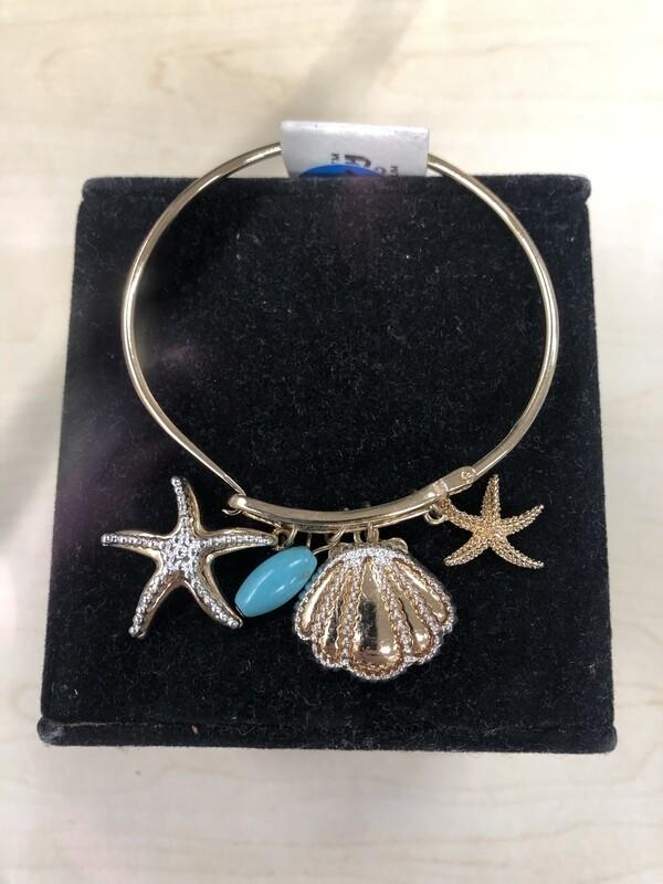 Dangle Bracelet Sea Shells