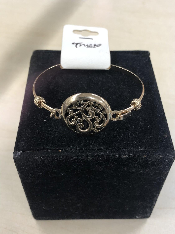 Tree Bracelet Gold