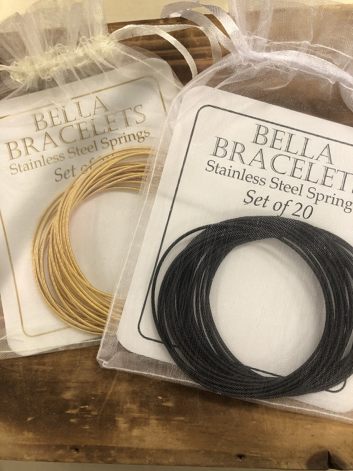 Bella Stainless Steel Set/20 Bracelet
