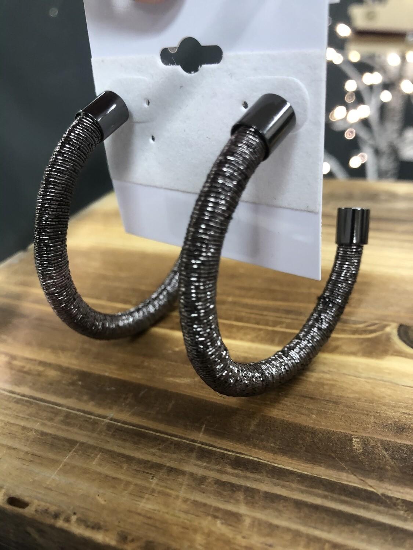 Earrings Hoops Metal Large